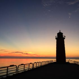 Lighthouse - Lake Michigan