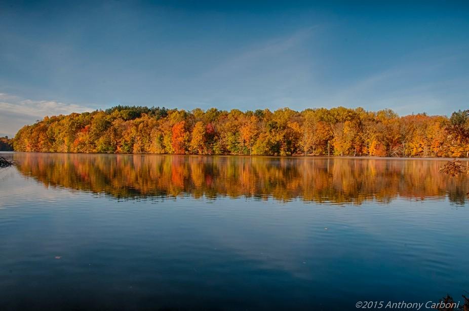 Fall Foliage Kensico Reservoir