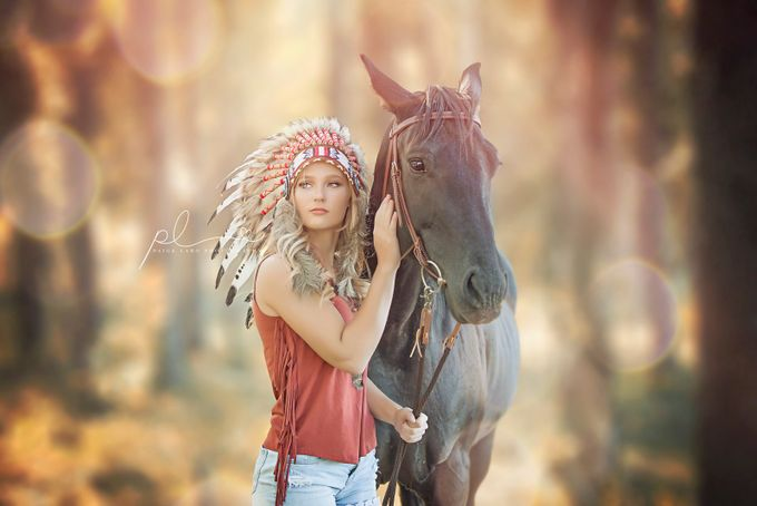 Horse Love by PaigeLaroPhotography - People With Bokeh Photo Contest