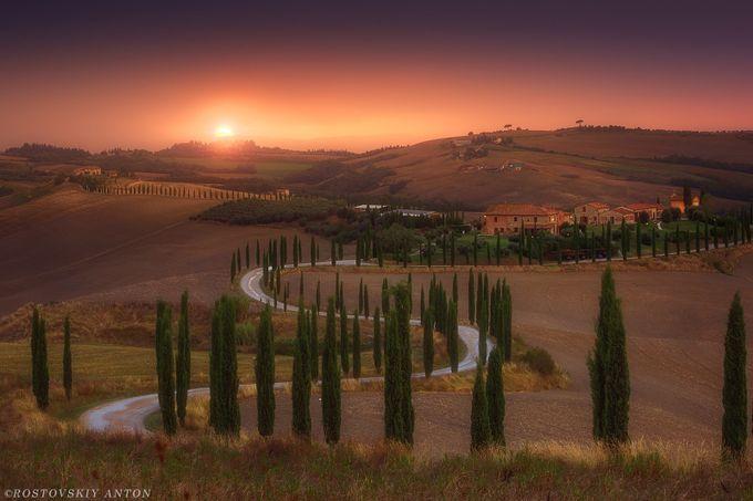 Tuscany by Rostovskiy - Sunrise Or Sunset Photo Contest