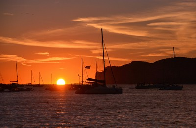 Sunset In Santa Ponsa Bay