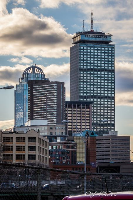 Prudential at Dusk