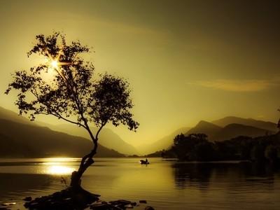 Sunrise Snowdonia