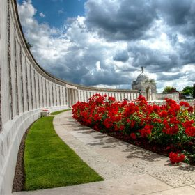 Taken at Tyne Cot Cemetery in Passendale (B)