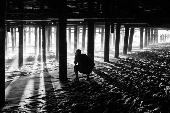 Shadows & Light, California  by GeraintRowlandPhotography - Structures in Black and White Photo Contest