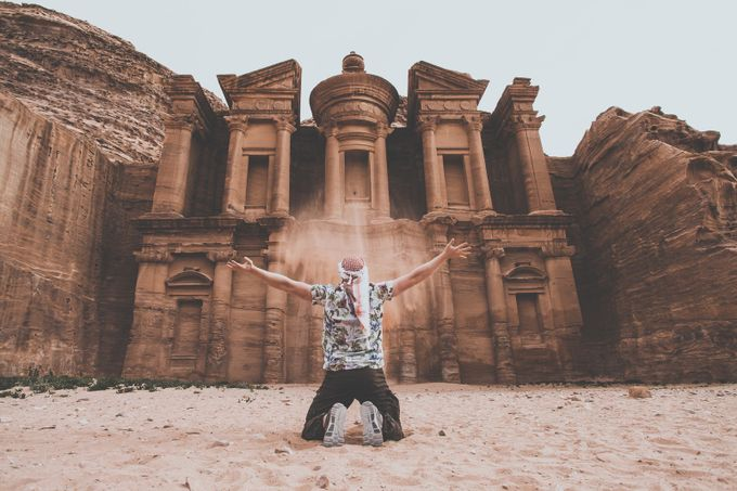 Petra, Jordan by lukegram - Capture The Back Photo Contest