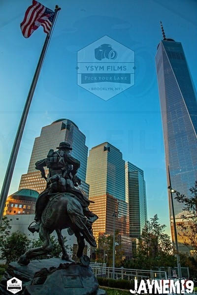 America response Monument and Freedom tower