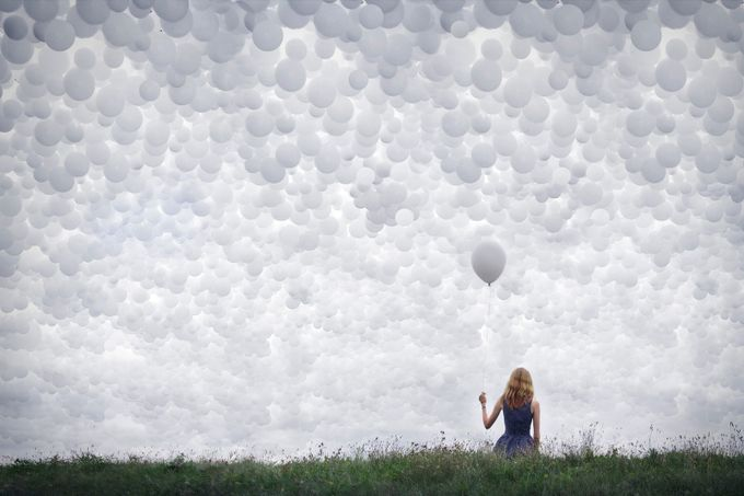 Balloon Sky (46/52) by Meike_I - Creative Reality Photo Contest