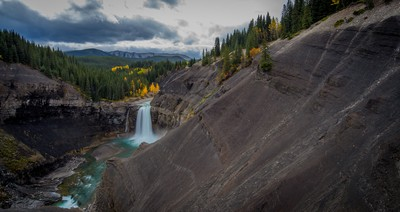 Ram Falls in Fall