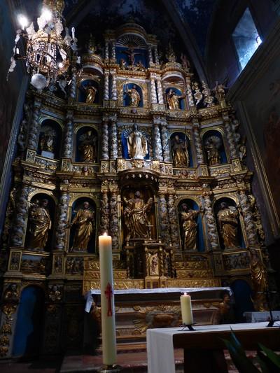 Baroque altarpiece XVII century