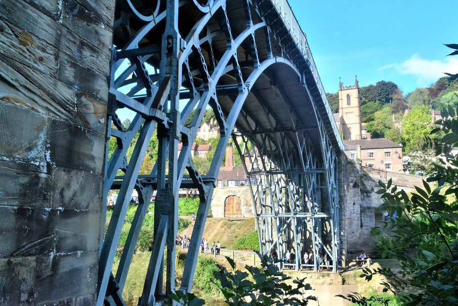 The Original Iron Bridge ...where the Industrial Revolution began