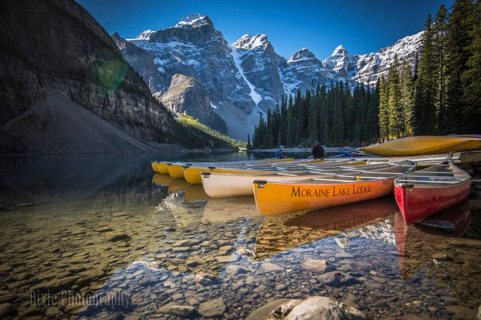 Morning on Moraine Lake by dixiejbrumm - Creative Travels Photo Contest