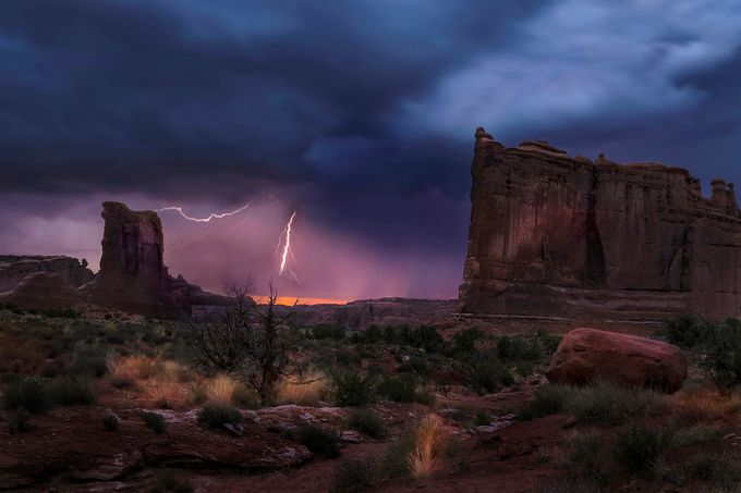 Stormy Twilight by DoraArt - A Storm Is Coming Photo Contest