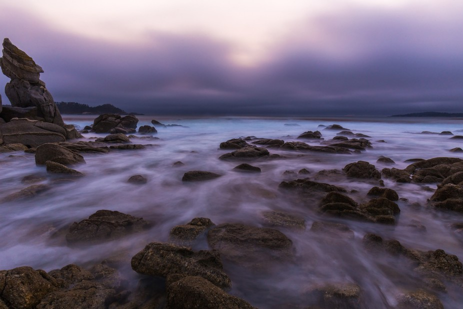 This is a spot we miraculously found after finding out that the wildfires in Big Sur caused all o...