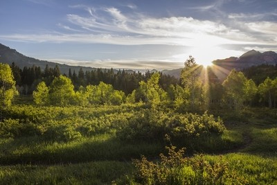 Hiker's Sunset