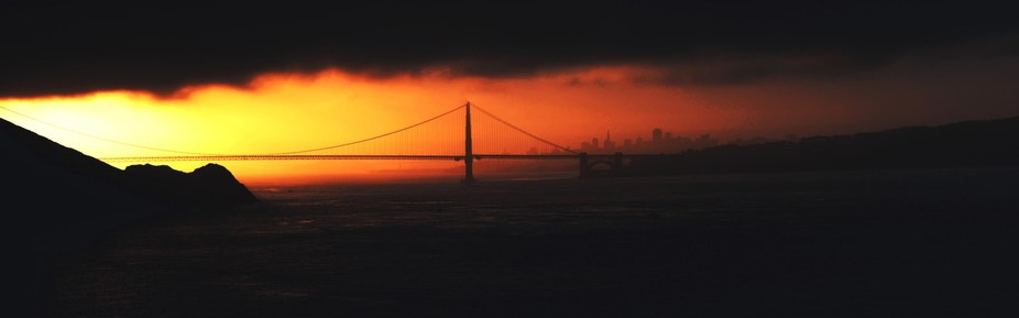 This is one of many photos I took of the golden gate with the 7D Mark 2.