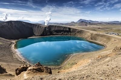 Stora - Viti Maar (explosion crater) by Mt. Krafla, Iceland