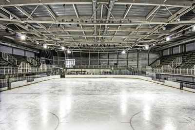 The ice rink at Liège, Mediacité
