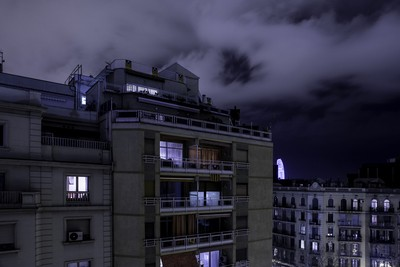 Barcelona top view