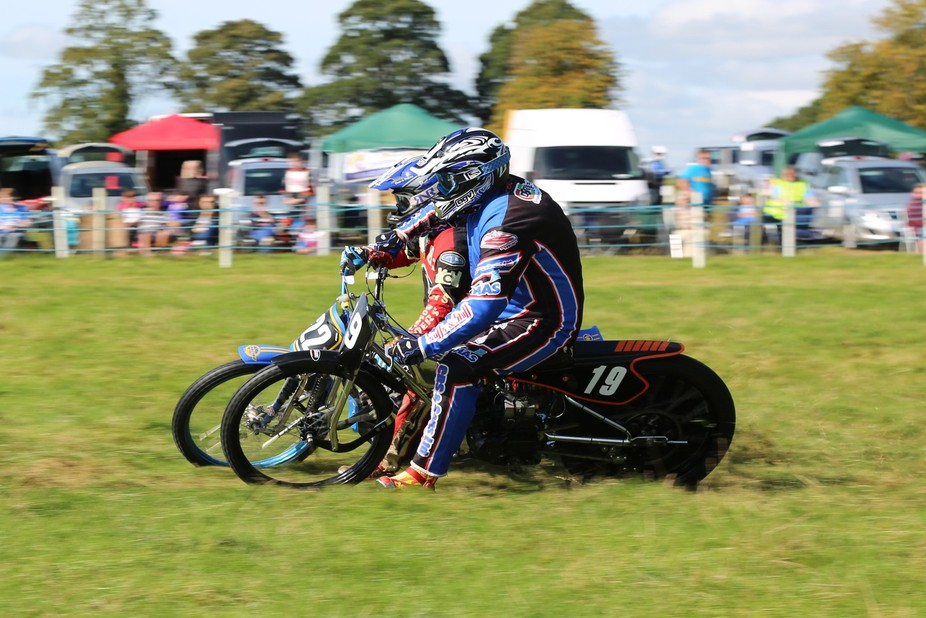 Motorcycle Grasstrack is a form of motorcycle racing which typically, in its current form, takes ...