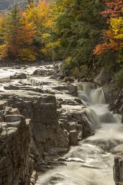 Waterfall - White mountains