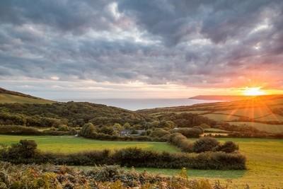 Langdon Hill Sunset