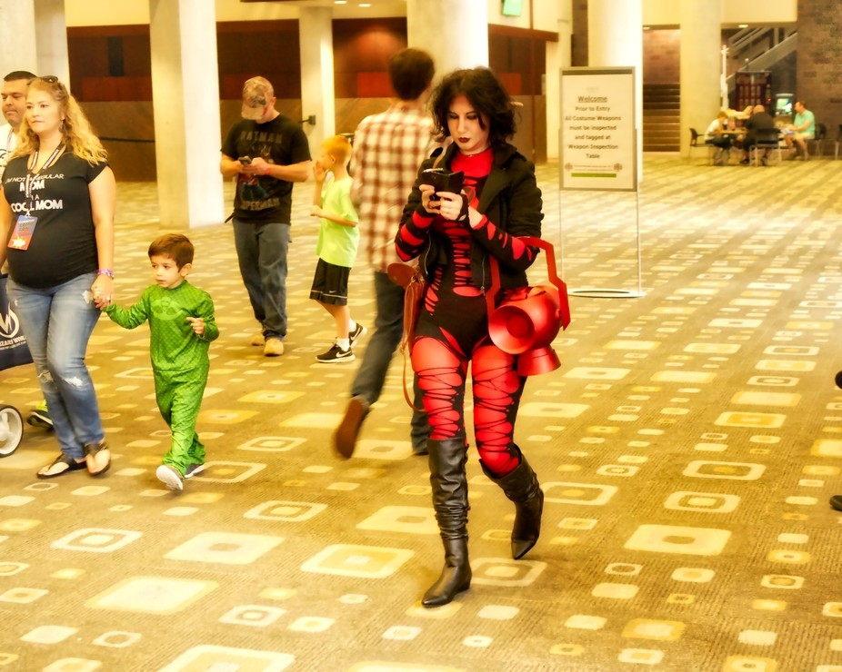 This shot was taken in Austin,TX AT Comic-Con2016