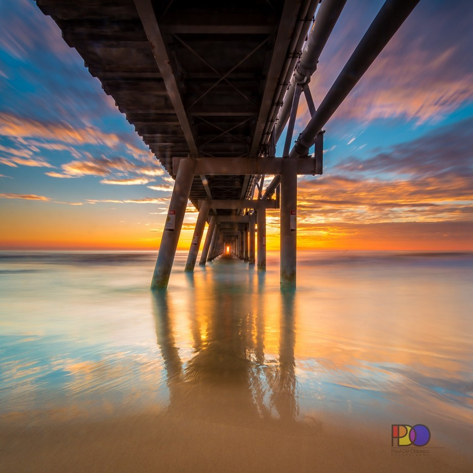 Light At The End by PDO1962 - The View Under The Pier Photo Contest
