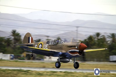 """""""Mission Completed"""" Curtiss P-40 """"Kittyhawk"""""""