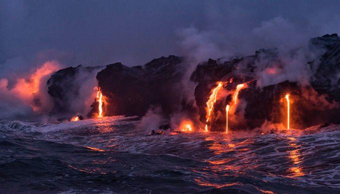 Kilauea Lava Flow One by BensViewfinder - My Best Shot Photo Contest Vol 2