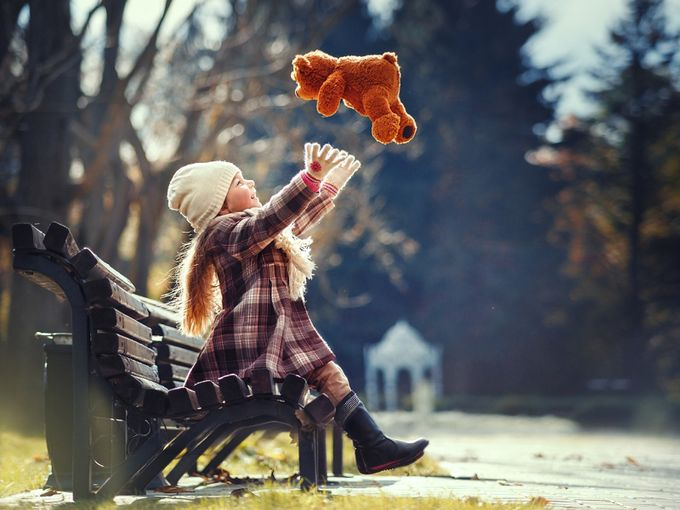 A happy childhood by natalyapryadko - Anything People Photo Contest