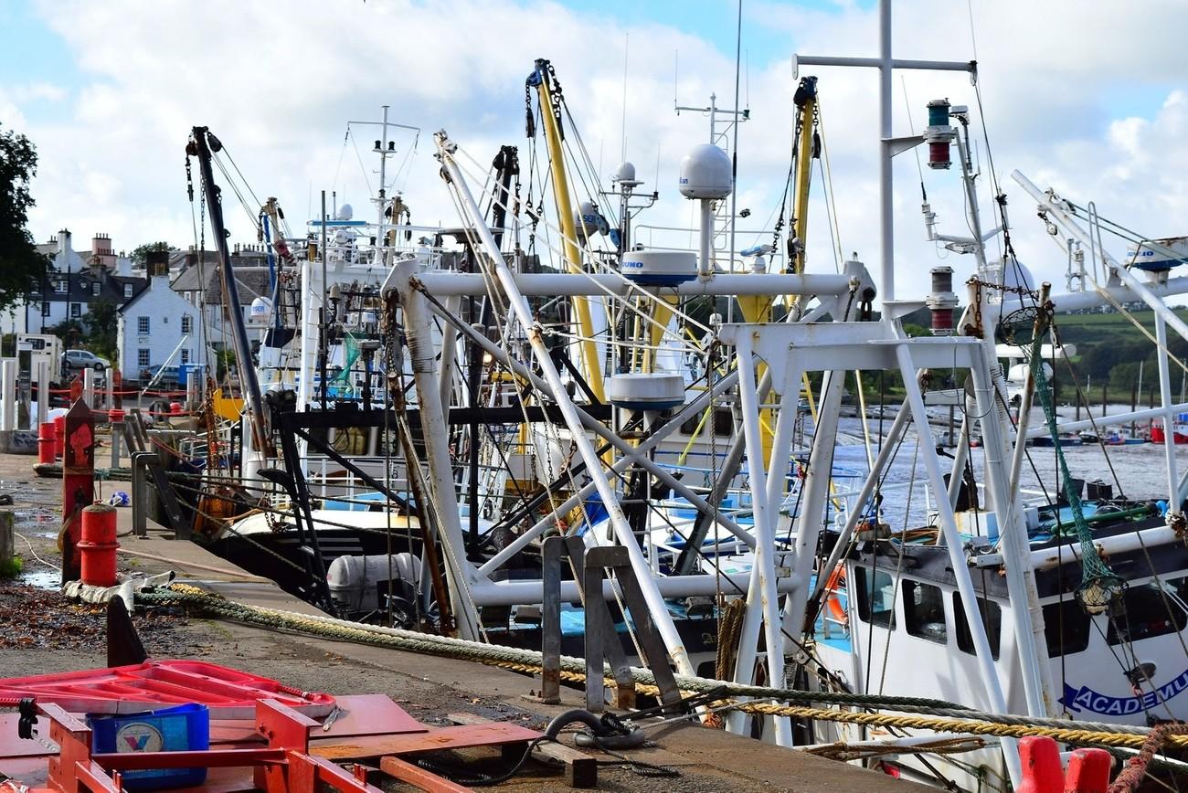 Taken on the harbour side at Kirkcudbright.