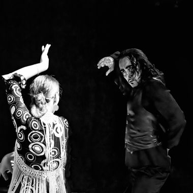 Brussels event with Flamenco dancers