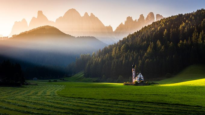Light from above by petersvoboda - Compositions 101 Photo Contest vol3