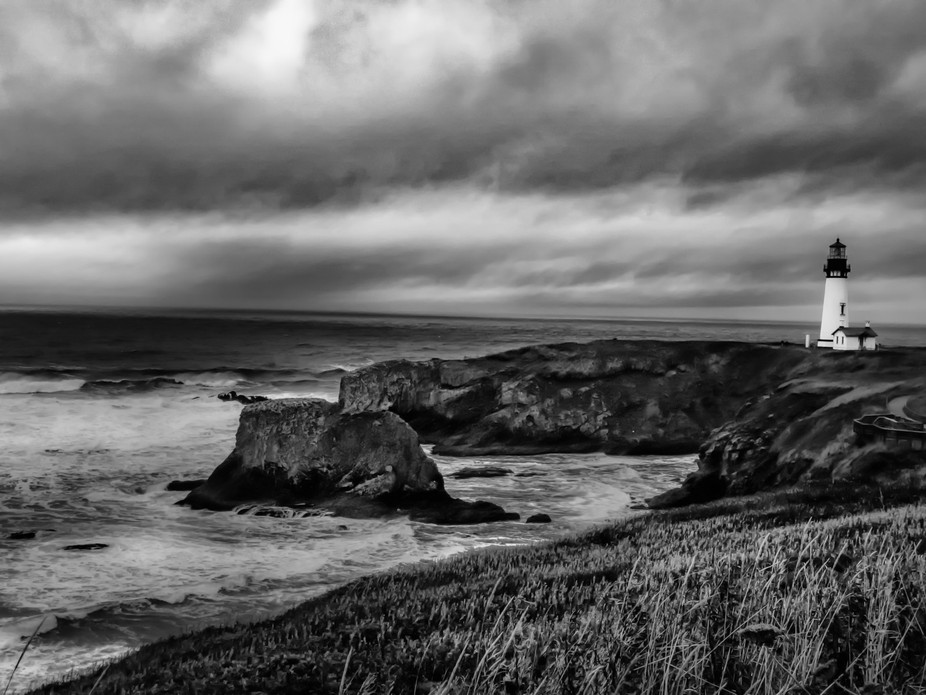 The Yaquina Bay Lighthouse was built in 1871, soon after the City of Newport was established as a...