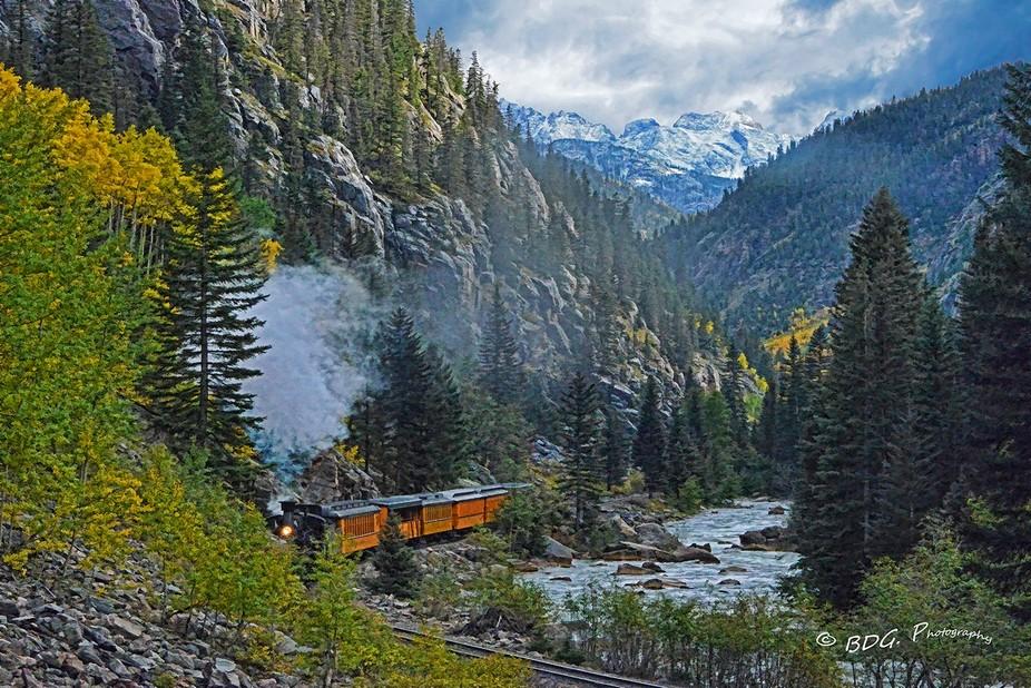 The Silverton & Durango Narrow Gage Railroad!