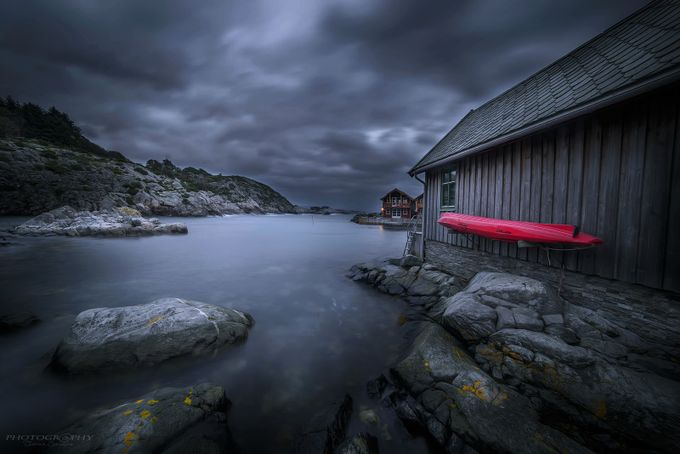 Evening on the island by tomas459 - Sweeping Landscapes Photo Contest