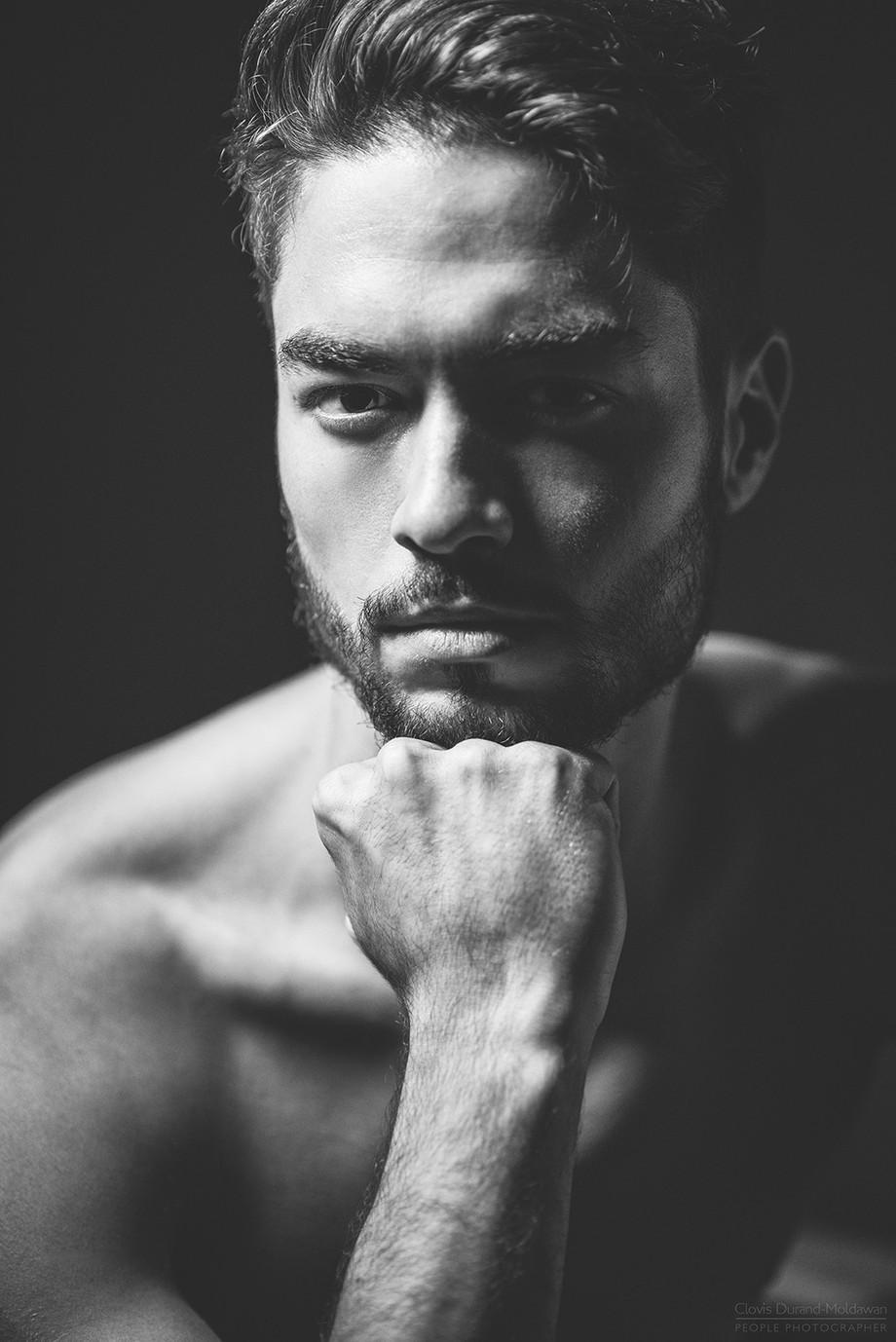 Trainee God by ClovisDM - The Face Of A Man Photo Contest