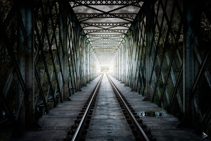 The austere crossing by amazed - Empty Railways Photo Contest