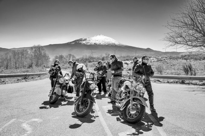 The road to Etna by antoniogirlando - Motorcycles Photo Contest