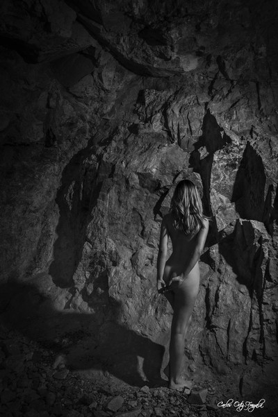 naked in the cave