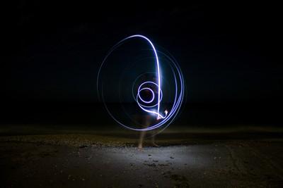 Night Spirals