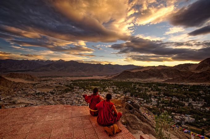 Sunset Monks by RiccardoMantero - Monthly Pro Vol 27 Photo Contest