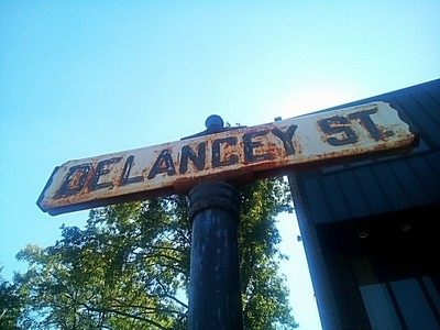 Old Street Sign