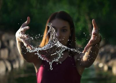 Water Splash Dancer
