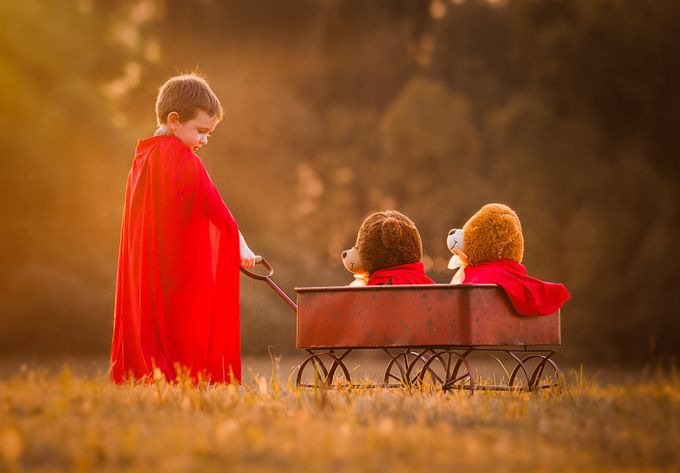 Little Heroes by Julieweiss - It Is Red Photo Contest