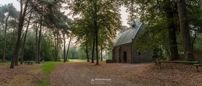 Panorama - Misty Morning Willibrorduskapel