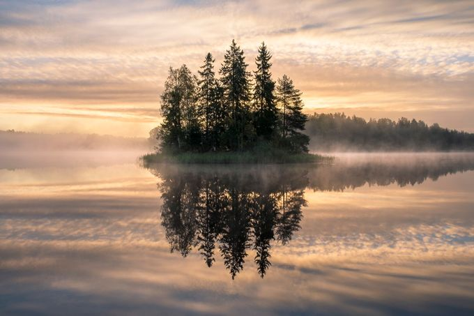 As smooth as a millpond by Riekkinen - The Zen Moment Photo Contest