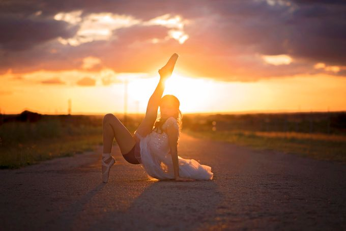 Sunset Ballet Daner by DanielleLyneePhotography - Lets Dance Photo Contest