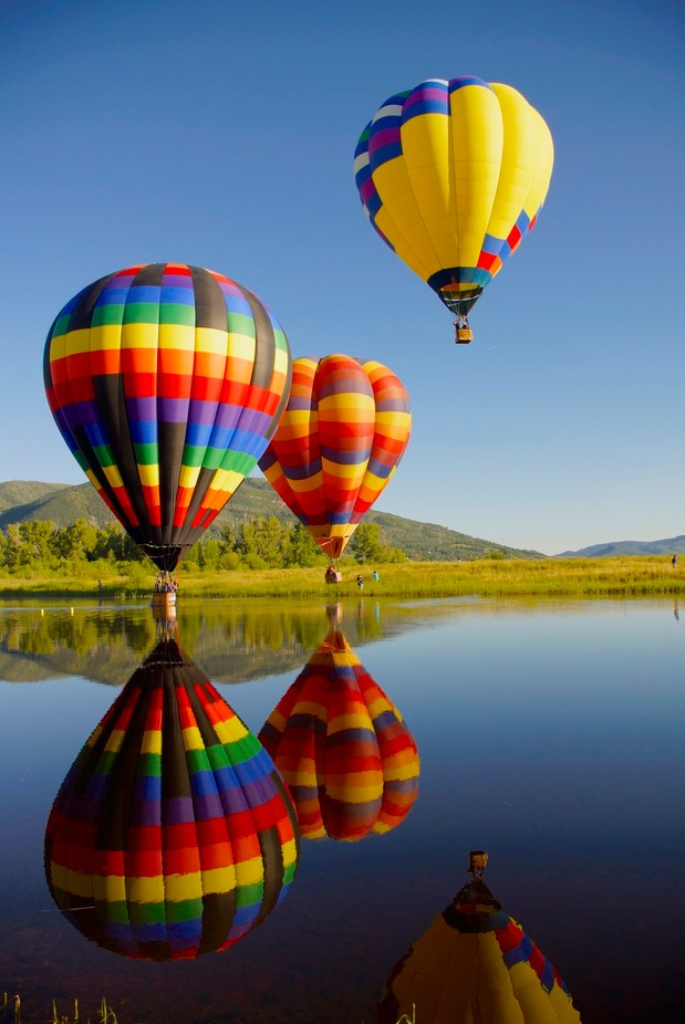 colors rising by Dhtraveler - Show Balloons Photo Contest